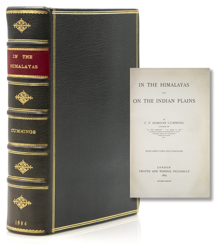 In the Himalayas and on the Indian Plains. C. F. Gordon Cumming.