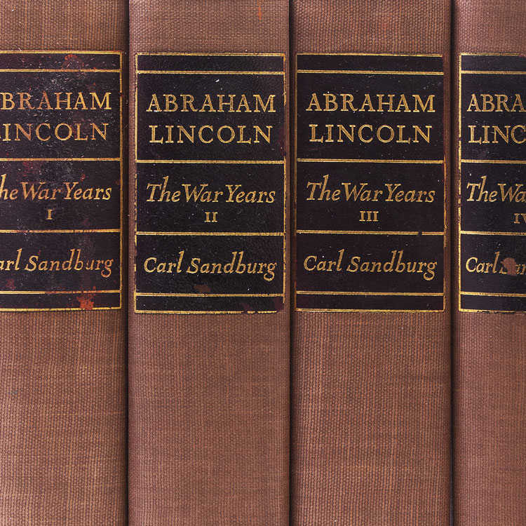 Abraham Lincoln: The War Years. Carl Sandburg.