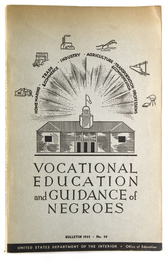 Vocational Education and Guidance of Negroes. Report of a Survey Conducted by the Office of Education. Bulletin 1937 No. 38. Ambrose Caliver.