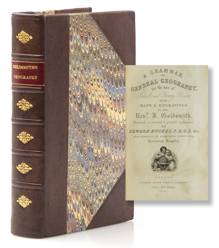 A Grammar of General Geography for the use of Schools and Young Persons..,.with Maps & Engravings . Revised & Corrected by Edward Hughes. the Rev. J. Goldsmith.