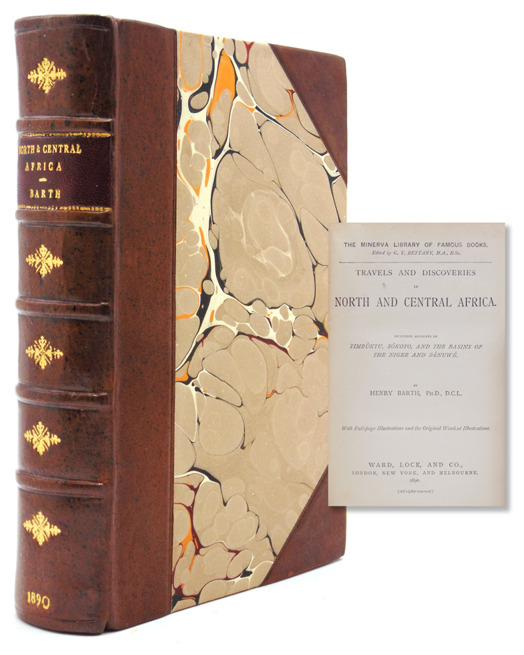 Travels and Discoveries in North and Central Africa. Henry Barth.