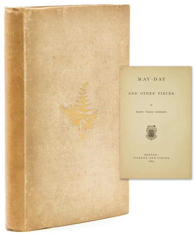 May-Day and Other Pieces. Ralph Waldo Emerson.