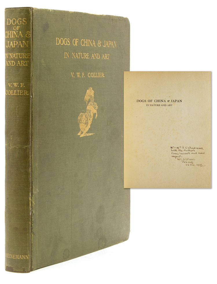 Dogs of China & Japan. In Nature and Art. V. W. F. Collier.