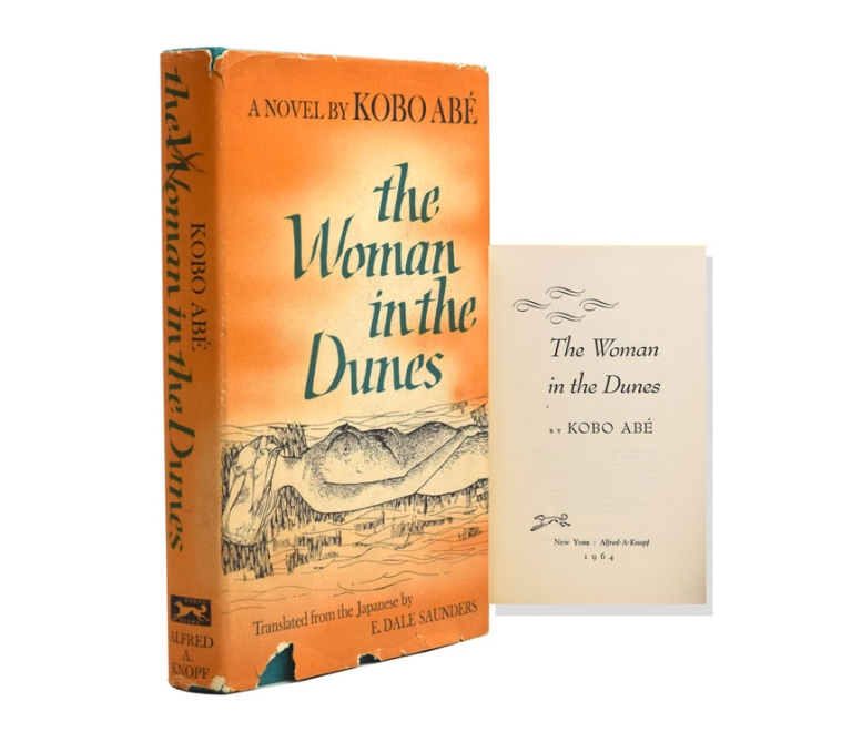 The Woman in the Dunes. Translated from the Japanese by E. Dale Saunders. Kobo Abé.