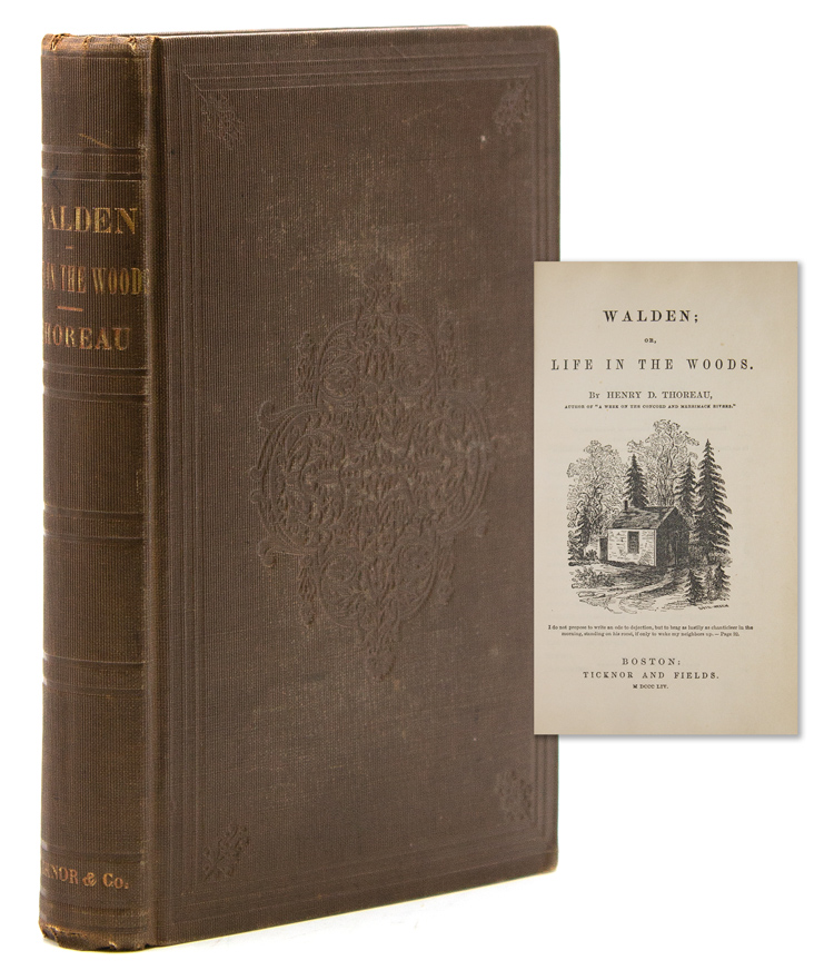 Walden; or, Life in the Woods. Henry David Thoreau.