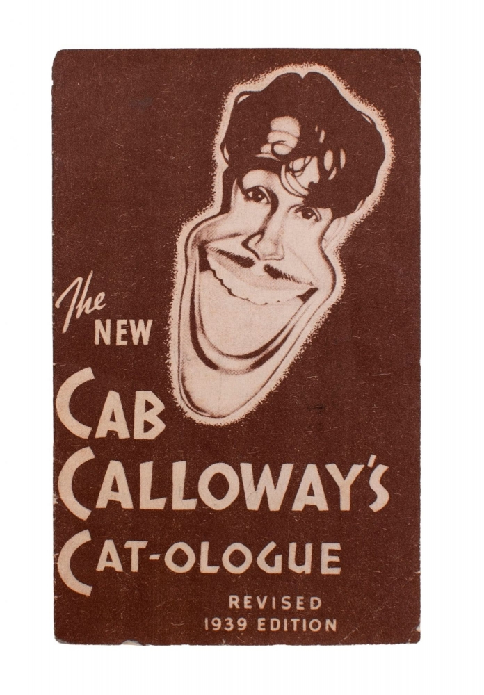 The New Cab Calloway's Cat-ologue [A Hepster's Dictionary]. Cab Calloway.