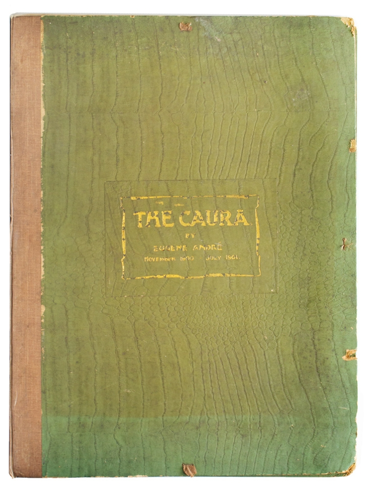 [Portfolio of photographic plates issued to accompany: The Caura, a Narrative of a Journey up the Caura River]. Eugène André.