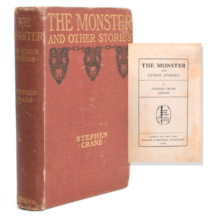 The Monster and Other Stories. Stephen Crane.