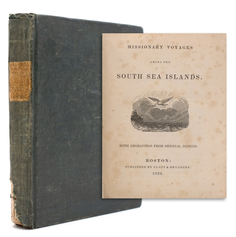 Missionary Voyages among the South Sea Islands. Pacific Ocean.