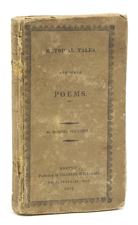 Metrical Tales and other Poems. Robert Southey.