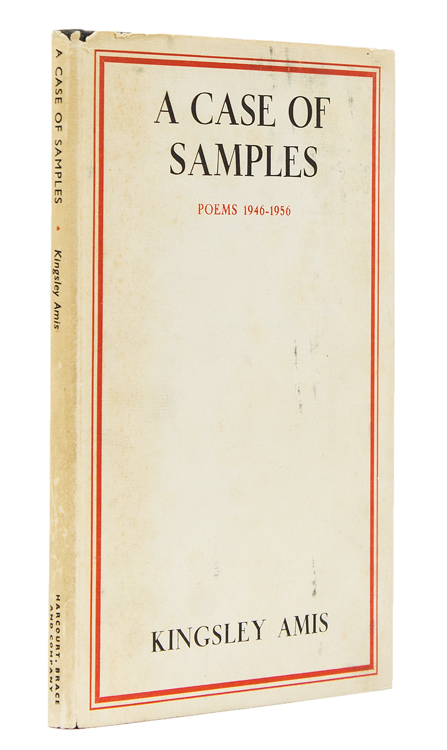 A Case of Samples. Poems 1946-1956. Kingsley Amis.