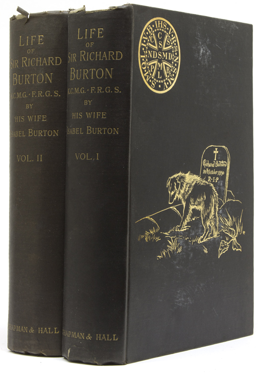 The Life of Captain Richard F. Burton ... With numerous portraits, illustrations, and maps. In Two Volumes. Sir Richard F. Burton, Isabel Burton.