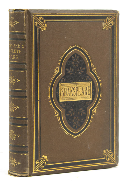 [Works] The Works of Shakspeare. Reprinted from the Early Editions, Including Life, Glossary, etc. William Shakespeare.