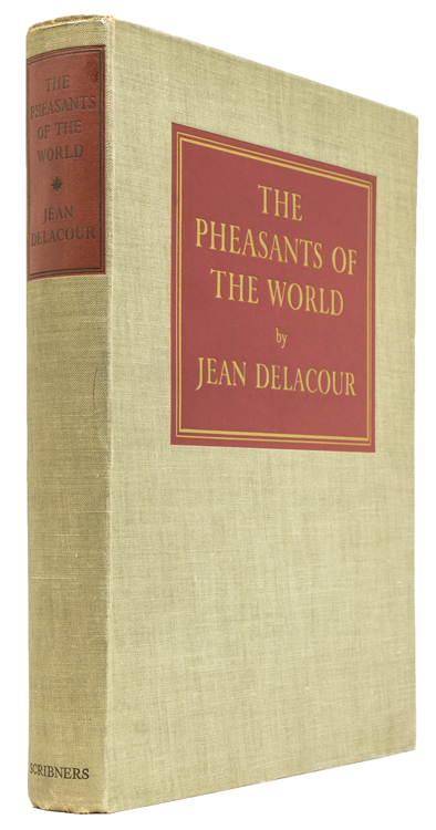 The Pheasants of the World. Jean Delacour.
