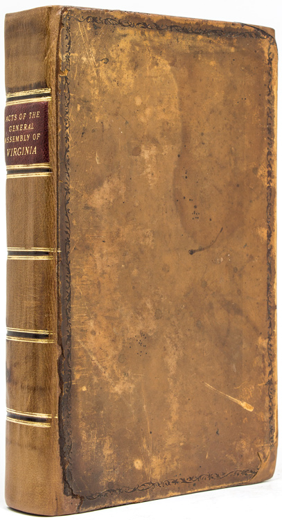 A Collection of all such Acts of the General Assembly of Virginia, of a Public and Permanent Nature as are Now in Force; with a Complete New Index. Virginia.