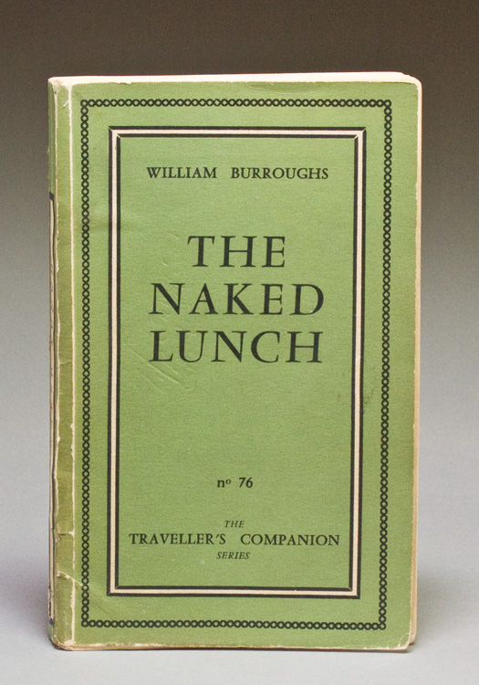 The Naked Lunch. William Burroughs.