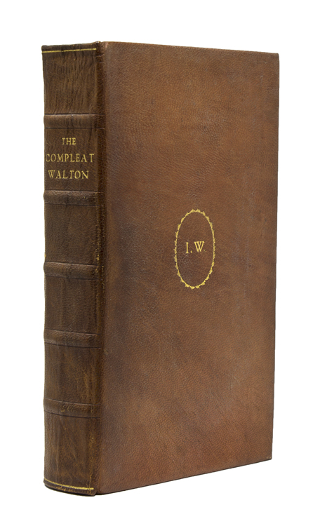 The Compleat Angler; The Lives of Donne, Wotton, Hooker, Herbert & Sanderson; and Miscellaneous Writings. Edited by Geoffrey Keynes. Nonesuch Press, Izaak Walton.