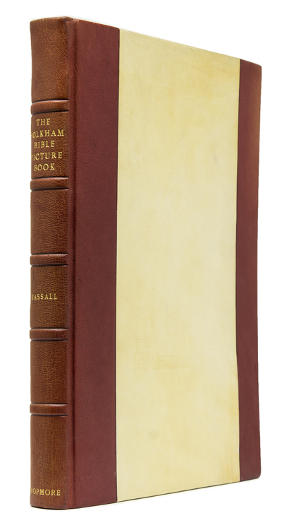 The Holkam Bible Picture Book. Introduction and Commentary by W.O. Hassall. [Foreword by the Earl of Leicester]. Bible.