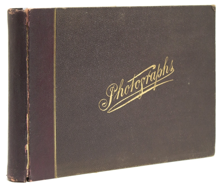 Album of 10 hand-colored photographs of Moscow and St. Petersburg. Russia.