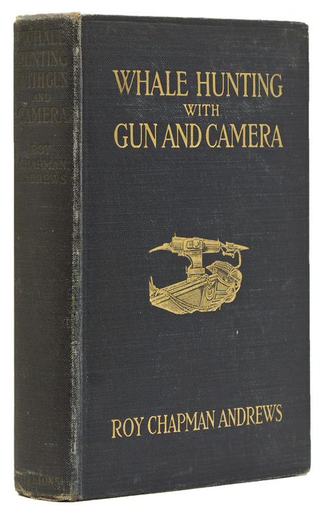 Whale Hunting with Gun and Camera. Whales, Roy Chapman Andrews.