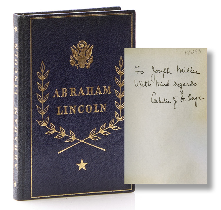 Selections from His Writings. Foreword by Carl E. Wahlstrom. Abraham Lincoln.