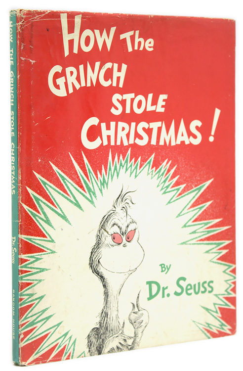 The Grinch Who Stole Christmas Book.How The Grinch Stole Christmas By Seuss Dr Theodore Geisel On James Cummins Bookseller