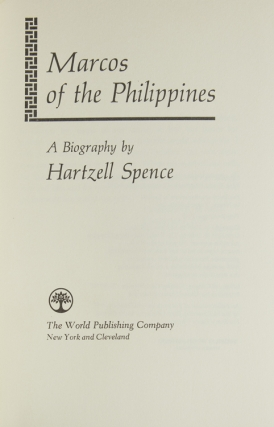 Marcos of the Philippines. A Biography