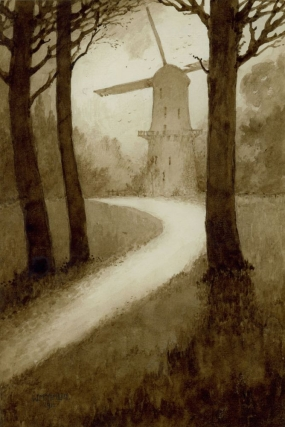 Windmill in the Woods. William H. Timlin.