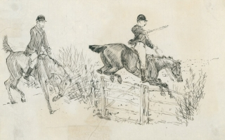 English Foxhunting Drawings. A. R. Fairfield