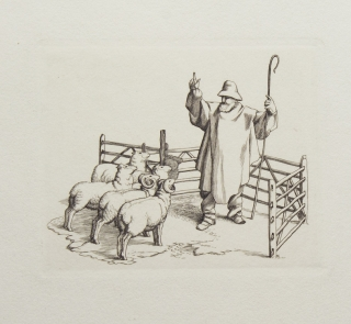 The Fables of Jean de la Fontaine: The Shepherd and His Flock