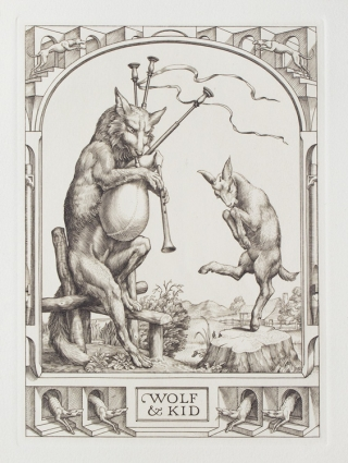 Aesop's Fables: A Wolf and a Kid. Stephen Gooden