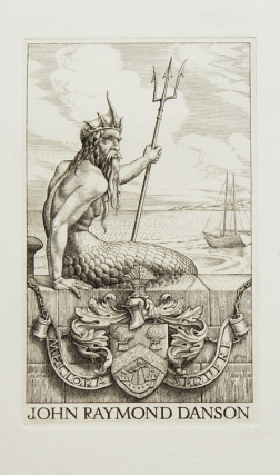 John Raymond Danson: Bookplate. Stephen Gooden