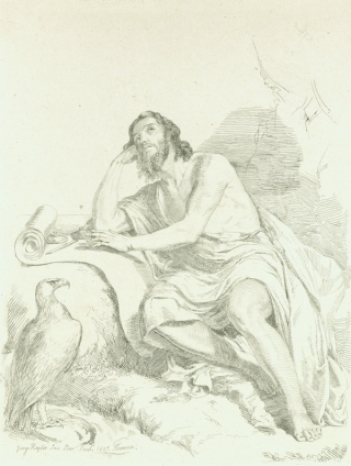 St John. Biblical, Sir George Hayter