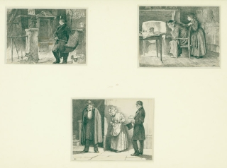 Three Illustrations to Dickens's Little Dorrit