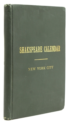 Events in the History of New York City with Illustrations from Shakespeare by a New Yorker. New York City, comp., John B. Moreau.