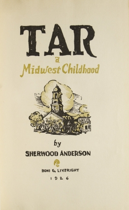 Tar. A Midwest Childhood