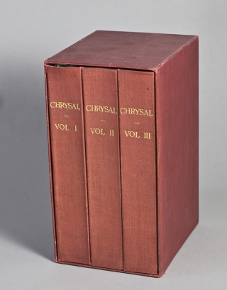 Chrysal: or The Adventures of a Guinea, by an Adept. Charles Johnston
