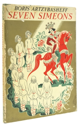 Seven Simeons: a Russian tale retold and illustrated by Boris Artzybasheff , (Text in English)