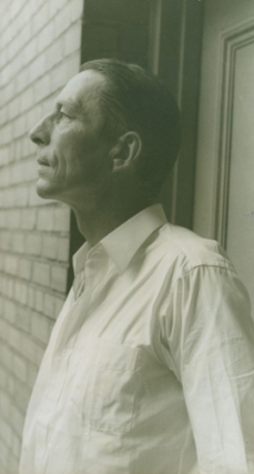 Portrait photograph of Robinson Jeffers. Robinson Jeffers, Carl Van Vechten
