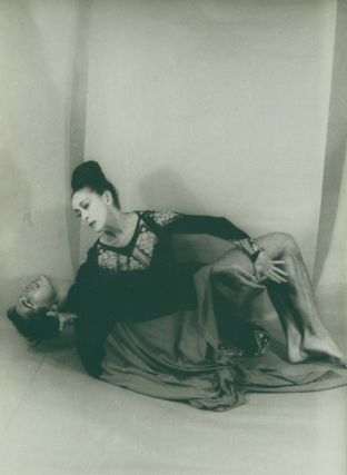 Martha Graham as Clytemnestra and Bertram Ross as Orestes. Martha Graham, Carl Van Vechten