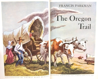 The Oregon Trail. Sketches of Prairie and Rocky-Mountain Life