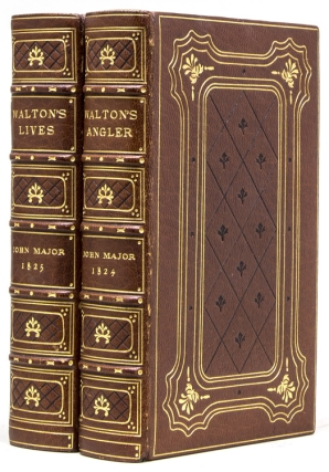 The Compleat Angler of Izaak Walton and Charles Cotton ... to which is added an Introductory Essay; The Linnean Arrrangement of the Various River Fish delineated in the Work [And:] The Lives of Dr. John Donne, Sir Henry Wotton, Mr. Richard Hooker, Mr George Herbert, and Dr. Robert Sanderson …. Izaac Walton.