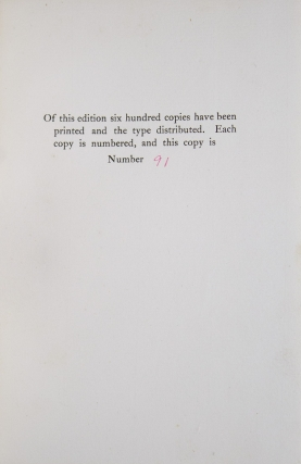 One Hundred Quatrains from the Rubaiyat of Omar Khayyam. A Rendering in English Vers by Elizaeth Alden Curtis. With an Introduction by Richard Burton