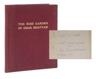 The Rose Garden of Omar Khayyam Founded on the Persian. Omar Kháyyám, Eben Francis...