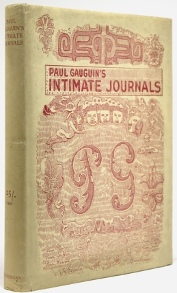 Paul Gauguin's Intimate Journals. Translated by Van Wyck Brooks. Preface by Emil Gauguin