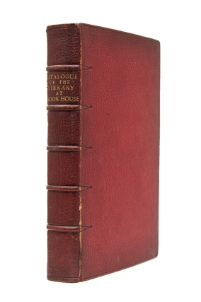Catalogue of the Library at Brook House Park Lane belonging to Sir Dudley Coutts Majoribanks,...