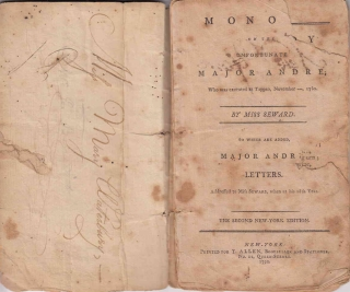 Monody on Major Andrè … to which is added Letters addressed to her by Major Andrè in the Year 1769