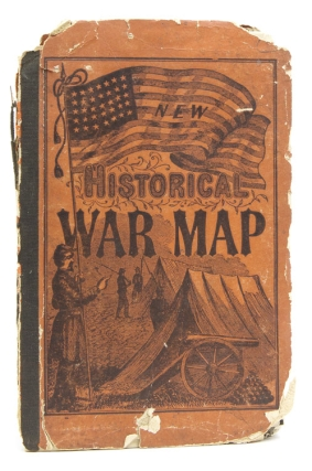 Phelps and Watson's Historical Military Map of the Border and Southern States. Civil War Map.