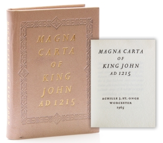 Magna Carta of King John