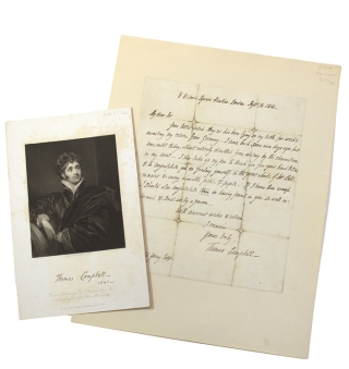 "Autograph Letter Signed (""Thomas Campbell"") To Ronald Young. Thomas Campbell"